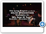 THE LONG PLAYERS perform BRUCE SPRINGSTEEN Darkness On The Edge Of Town